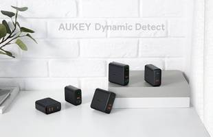 aukey's new dynamic detect chargers are ideal for both laptops and phones