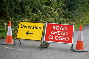 Roadworks and closures in Bath and North East Somerset in the next two weeks