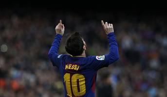 Lionel Messi starts on the bench for Barcelona's Champions League showdown vs. Borussia Dortmund