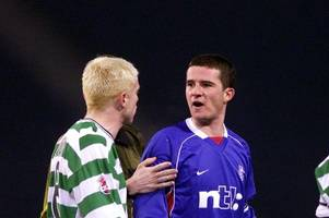 when celtic captain neil lennon sat in barry ferguson's favourite seat and drank from his favourite cup