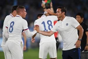 frank lampard explains why ross barkley took chelsea's penalty off jorginho and willian