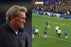 who glenn hoddle blamed for chelsea's penalty miss against valencia - and it wasn't ross barkley