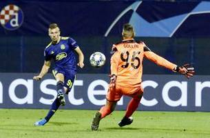 orsic hat trick helps dinamo zagreb end 11-match losing run