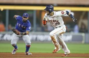 Nomar Mazara hits Home Run, Rangers fall to Astros 4-1