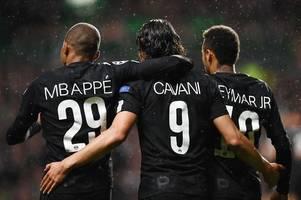 real madrid handed huge boost as psg confirm neymar, mbappe and cavani absences