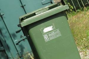 how heatwave hurt solihull's latest recycling figures