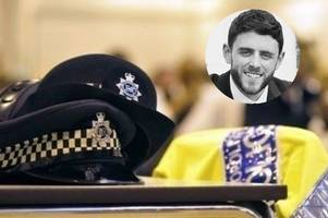 three charged with pc andrew harper's murder after hero cop died on duty
