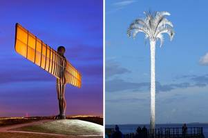 from 'an absolutely beautiful idea' to 'one of the ugliest things i have ever seen' - cleethorpes' white palm divides north east lincolnshire