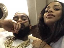 lauren london reminds us how much nipsey hussle supported her w/ throwback pic