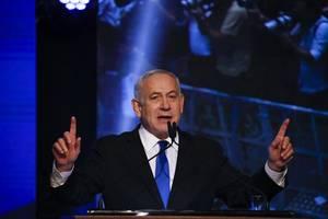 israel's netanyahu left teetering after close election