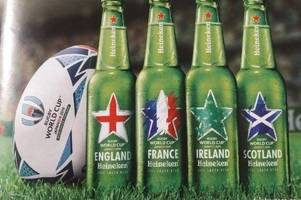 angry wales fans accuse heineken of snubbing wales after world cup ad campaign sees grand slam champions omitted