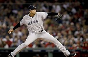 dellin betances tore achilles in return to yankees