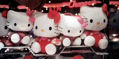 mattel snagged the rights to hello kitty by flying a team to tokyo and pitching the brand's 91-year-old 'patriarch'