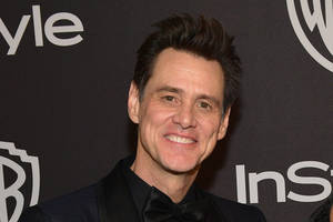 new jim carrey artwork could ruffle some 'maga' feathers