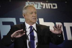 Benny Gantz says he should be PM in Israel unity government