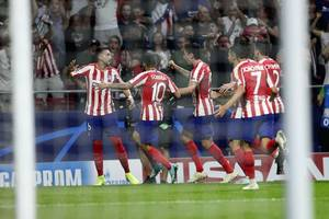 (champions league) atlético gets late equalizer against juventus