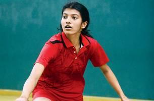 mssa badminton: thrice as nice for jamnabai narsee shuttler hrissha!
