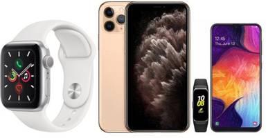 et deals: apple iphone 11 pro bogo $700 off, samsung galaxy a50 + galaxy fit $349, apple watch series 5 gps pre-order $399
