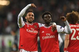 Arsenal player ratings: A star is born as Bukayo Saka shines in Eintracht Frankfurt win