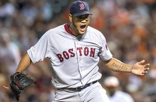 eduardo rodriguez whiffs 10 as red sox avoid being swept by giants