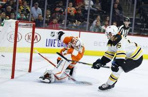 cehlarik leads bruins to 3-1 victory over flyers