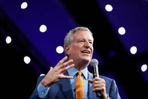 de blasio drops out of presidential race, calling campaign 'a profound experience for me'