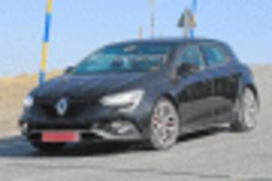 2020 renault megane rs spy shots