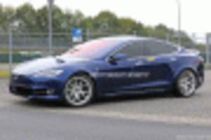 tesla model s plaid leaves nurburgring without reporting completed lap
