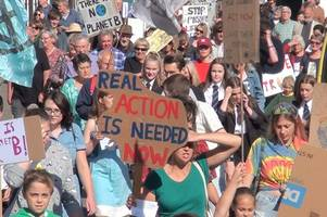 tiverton masses join millions in global climate strike action