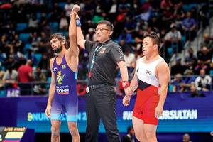 World Championships: Brave Bajrang Punia beaten by tough tie-breaker