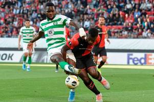 how l'equipe rated celtic players v rennes and their miserable verdict on odsonne edouard