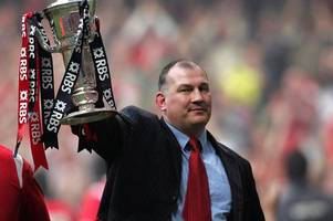 mike ruddock on his grand slam star stephen jones' challenge replacing rob howley at the world cup