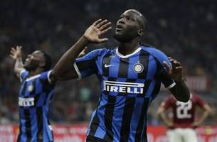 inter beats milan 2-0 to keep perfect start in serie a