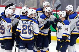 perron scores tying and game-winning goal in blues' overtime win