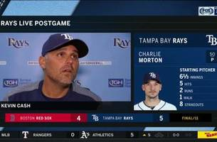 kevin cash breaks down rays' walk-off win over red sox