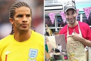 Inside David James' art collection - Strictly star shows off his work on Instagram