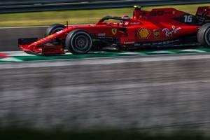 ferrari driver leclerc fastest in final practice in singapore