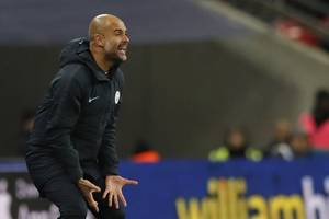 Guardiola won't be concerned if City win no titles this season