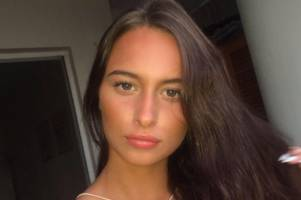 police question murder suspect after body of keeley bunker, 20, found in woodland