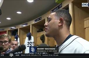 manny machado, padres players react to andy green's dismissal