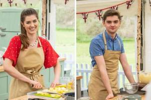 the great british bake off 2019 stars alice fevronia and henry bird are 'dating'