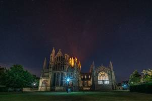 this is why ely cathedral is going to be lit up orange tonight