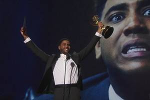 Emmys: 'When They See Us' Star Jharrel Jerome Honors the 'Exonerated Five' in Acceptance Speech