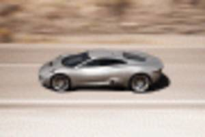 next-gen f-type team reportedly favors mid-engine, c-x75 concept-inspired design