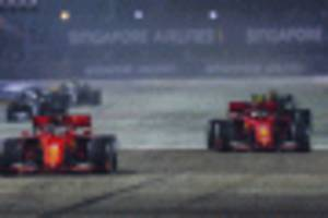one-two finish for ferrari at 2019 formula one singapore grand prix