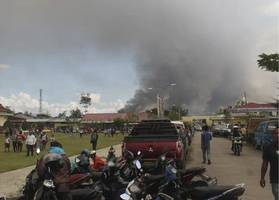 death toll rises to 32 in protests in indonesia's papua