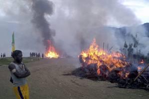 over two dozen killed in fresh papua unrest