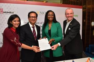 azent overseas education ltd. signs consulting agreement with new jersey city university in presence of new jersey governor, phil murphy