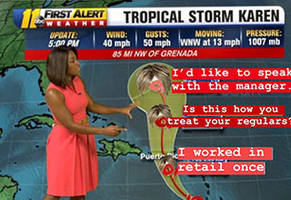 tropical storm karen memes are a managers worst nightmare