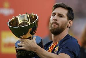 valverde: the world stops when something happens to messi
